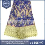 2016 best selling royal blue french laces fabric bridal heavy stones embroidery wholesale italian fabrics cheap african net lace
