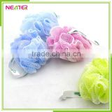 Cheap Custom Body Mesh Pouf Bath Sponge for Body Shower