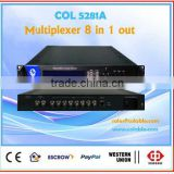 COL5281A hdmi video multiplexer with EPG and CA system,cable tv multiplexer