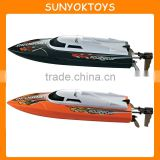 2014 NEW 2.4G Electric high speed battery powered RC boat, Speed Up To 20KM/H, RC Fishing Boats For Sale