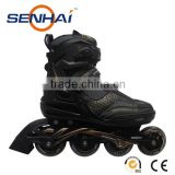 Foshan Inline Skate Wheels 110mm Senhai/Action Inline Roller Skates Shoes Outdoor Sports Flashing Roller Sport Shoes
