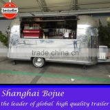 hot sales best quality custom food trailer electri health food trailer sofa food trailer
