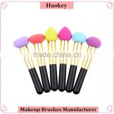 Purple brushes nose cleaning Sponge makeup brush dropship                                                                         Quality Choice