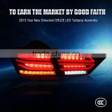 Direct Factory auto spare parts Red black CE Certification and LED Lamp Type LED Tail light Assembly For Curze 15 year