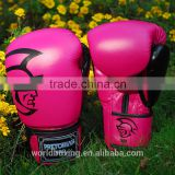 8 - 16 OZ UFC Fitness Pretorian Grant Luva Boxe MMA Training Boxing Gloves Amaranth PU Leather Muay Thai Mixed Martial Art Mitts