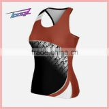 wholesale sublimation sexy Cheer tank tops