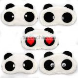 2014 funny panda sleep eye mask with high quality.