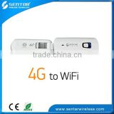 Sample Available In Stock 3G WCDMA GSM Router Portable 3G Wifi Router Without Sim Card Slot