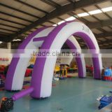 Purple Inflatable Arch for Sports Decoration