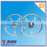 CG125 chrome aluminium alloy wheel rims hyper silver alloy wheel