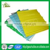 0.8mm lake blue sky blue 10 year guarantee continuous frp sheet for floor