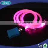 Plastic fiber optic cable, LED illumintor, car cigarette lighter led light for star light