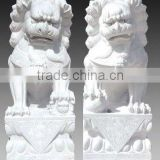 stone animal statue carving