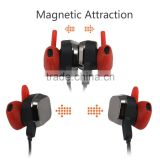 Wireless bluetooth stereo headphone flat cable earphone, active noise cancelling headphones
