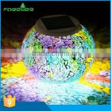 FG15057 landscape path outdoor light led solar glass ball light solar led ball light outdoor