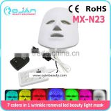 China wholesale oem service pdt professional red blue yellow color light therapy 7 colors facial led mask
