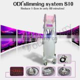 OD-S10 Perfect for Spa Non-invasive 4-IN-1 Cavitation Vacuum Rf Lipo Laser Fat Melting Machine with CE certificate