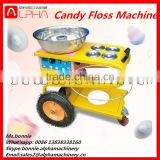 Automatic artificial flowers cotton candy floss machine for sale