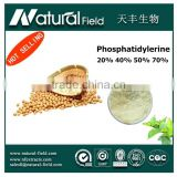 ISO&HACCP Certification manufacturer Competitive offer phosphatidyl serine 50% resistance to oppression