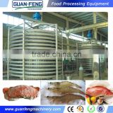Vertical Shock Freezer For Food Spiral Quick Freezing Machine