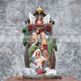 Christmas manger group statues souvenirs catholic religious items