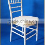 white wedding resin banquet hall chairs