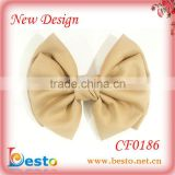 CF0186 Christmas vintage cute adult large hair clip bow