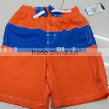 Kid's fashion comfortable brand sport shorts pants garment stock lot