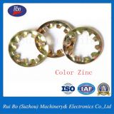 China Manufacture DIN6797J Internal Teeth Washer with ISO