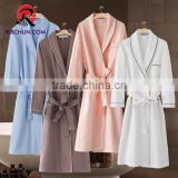 Soft Cotton Waffle Women Bathrobe, 100% Cotton Wholesale Bath robe