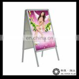 Double Sided Display Stands , Display Advertising Poster Stands
