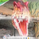 Kawah Attractive Decoration Lifelike Resin Wall Animal Head Sculpture
