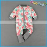 Safe cotton wool for infant clothes jumpsuit romper 0-3 years old chlid