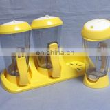 3 in 1 plastic condiment holder / tray