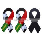 custom made beautiful portugal soccer ribbon car magnet