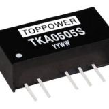 TKA0505S 1W 3KV Isolated Miniature Dual Output DC/DC Converters