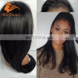 6A Grade Malaysian Straight Hair Full Lace Wig With Baby Hair Free Parting Natural Hairline Emo Dreadlock Wig For Black Women
