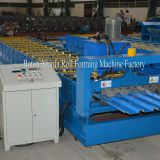 metal wall and roof panel sheet forming machine