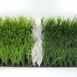 W shape  bi-colors UV resistant Futsal soccer field football artificial grass turf