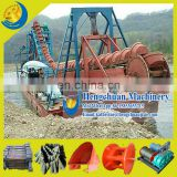 Beneficiation Chain Bucket Gold Dredging Boat for Sale