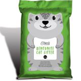 Dust-free bentonite cat litter export quality OEM foundryBulk cat litterBangkok Southeast Asia