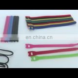 Cable Strap, Reusable Fastening Cable Ties Strap Adjustable Microfiber Cloth Hook and Loop Cord Ties, Wire Management