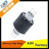 3 Pole 30A HF Signal Ethernet Miniature A3H Asian Tool Mercury Slip Ring