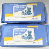 OEM Pet Wipes for Dogs and Cats, Pet Refresh Cleaning Wet Wipes