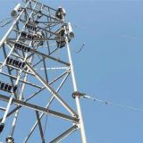 Galvanized steel telecom tower