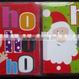 hot sale wholesale custom high quallity christmas greeting card with animals design