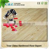 Durable wear resistance layer wooden laminate flooring