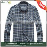 Promotion period high quality plaids casual men shirts/men's shirts in plus size/custom model style shirts for men cheap price                                                                         Quality Choice