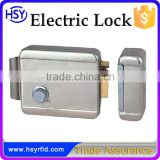 HSY-E214 High quality electric rim door locks for video door phones manufacturer from China