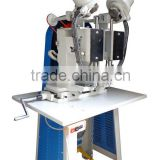 HAS VIDEO 195 Cycles Per Minute 2 Heads Paper Bag Rope Through Hole Fixing Making Machine